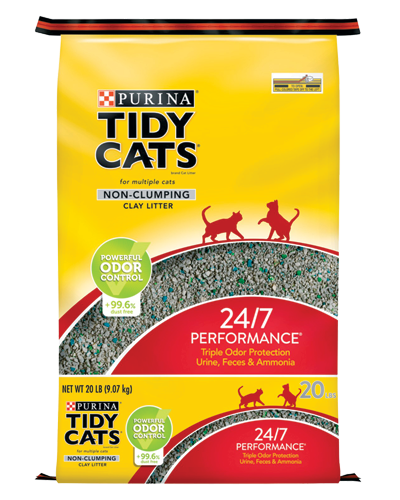 Picture of Purina Tidy Cats 24/7 Performance Cat Non-Clumping Litter - 20 lb.