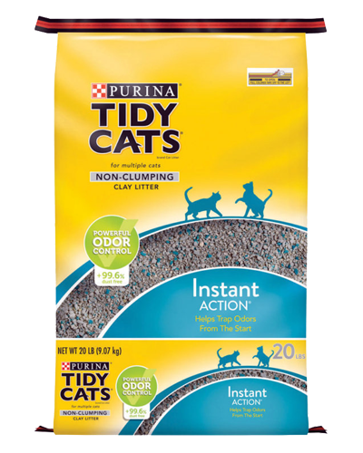 Picture of Purina Tidy Cats Instant Action Non-Clumping Cat Litter - 20 lb.