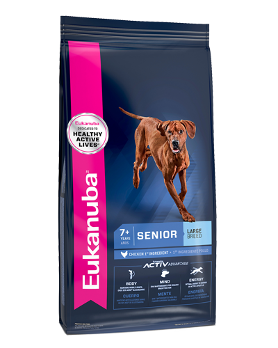 Picture of Eukanuba Lifestage Senior Large Breed Maintenance Formula - 30 lb.