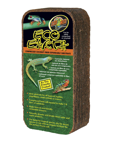 Picture of ZooMed Labs Eco Earth Coconut Fiber Substrate - 1 pack