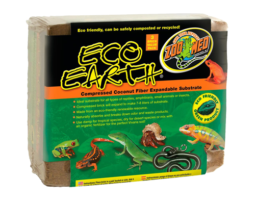 Picture of ZooMed Labs Eco Earth Coconut Fiber Substrate - 3 pack