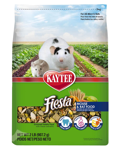 Picture of Kaytee Fiesta Mouse and Rat Food - 2 lb.