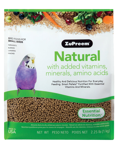 Picture of Zupreem Natural for Small Birds - 2.25 lb.