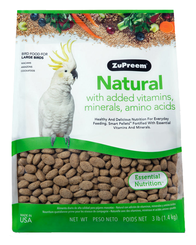 Picture of Zupreem Natural for Large Birds - 3 lb.