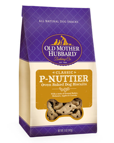 Picture of Old Mother Hubbard Classic P-Nuttier® Mini Biscuits -  5 oz.