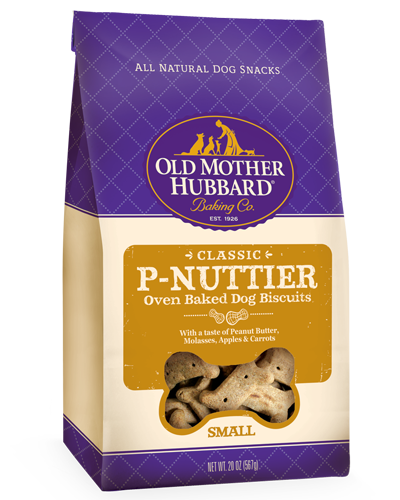 Picture of Old Mother Hubbard Classic P-Nuttier® Small Biscuits -  20 oz.