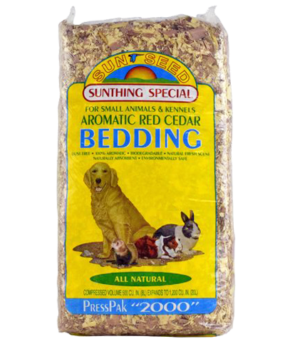 Picture of Sunseed Aromatic Red Cedar Bedding - 20 L