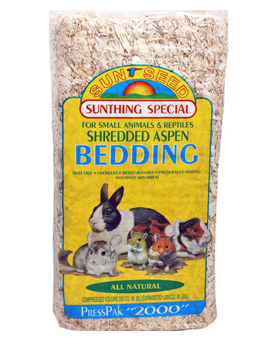 Picture of Sunseed Shredded Aspen Bedding - 20 L