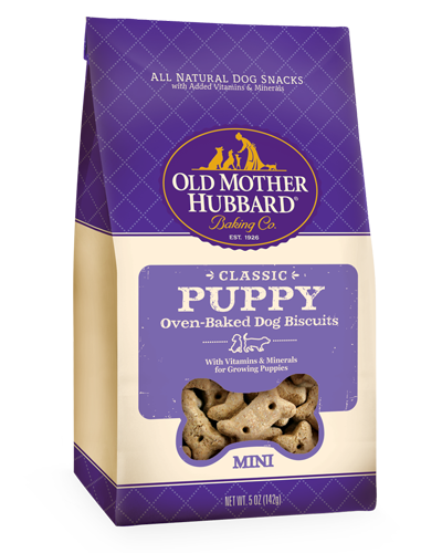 Picture of Old Mother Hubbard Classic Puppy Mini Biscuits -  5 oz.