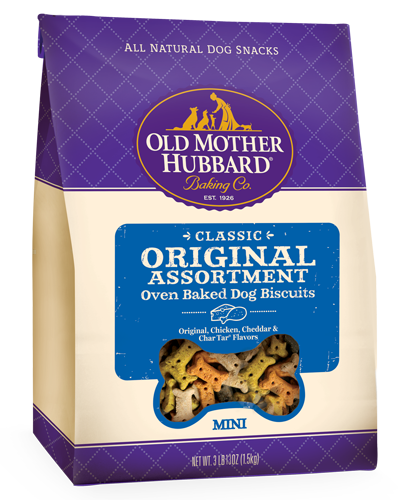 Picture of Old Mother Hubbard Classic Original Assortment Biscuits Mini - 3 lbs.