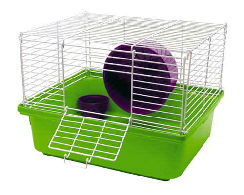 "Picture of Kaytee My First Home 1-Story Hamster Cage - 13.5"" x 11"" x 10"""