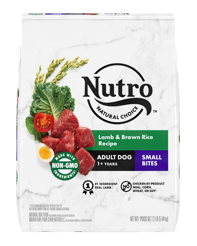 Picture of Nutro Natural Choice Small Bites Lamb & Brown Rice - 13 lbs.