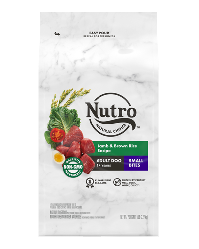 Picture of Nutro Wholesome Essentials Small Bites Pasture-Fed Lamb & Rice - 5 lbs.