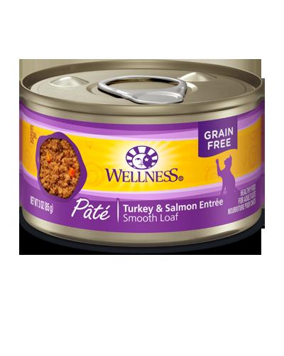 Picture of Wellness Grain Free Complete Health Pâté Turkey & Salmon - 5.5 oz.