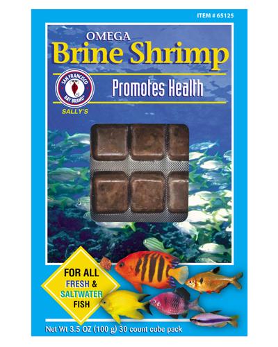 Picture of San Francisco Bay Brand Frozen Omega 3 Brine Shrimp - 3.5 oz.