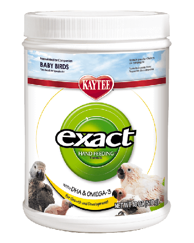 Picture of Kaytee Exacthand Feeding for Baby Birds Formula - 18 oz.