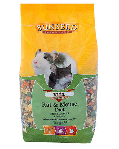 Picture of Sunseed Vita Sunscription Rat & Mouse Diet - 2 lb.