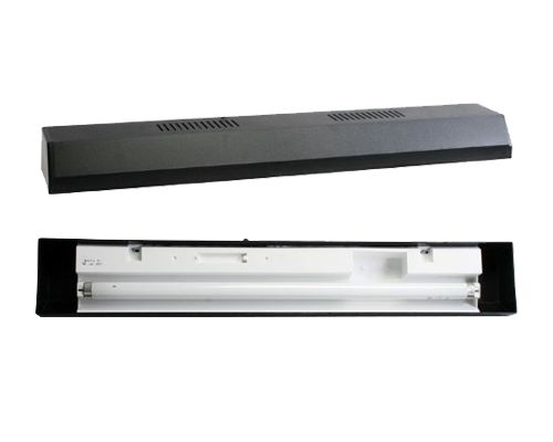 "Picture of Perfecto Black Fluorescent Strip Light - 30"""