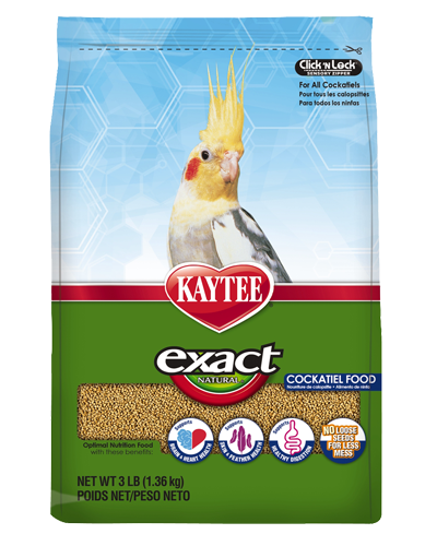 Picture of Kaytee Exact Natural Cockatiel Food - 3 lb.