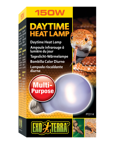 Picture of Exo Terra Sun-Glo Daytime Neodymium Heat Lamp - 150 Watt