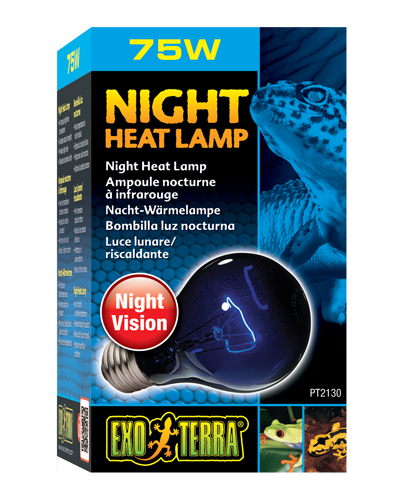 Picture of Exo Terra Night Heat Lamp Incandescent Bulb - 75 Watt