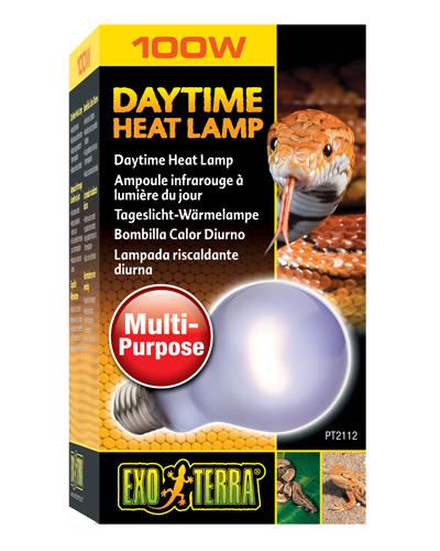 Picture of Exo Terra Sun-Glo Daytime Neodymium Heat Lamp - 100 Watt