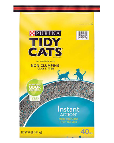 Picture of Purina Tidy Cats Instant Action Non-Clumping Cat Litter - 40 lb.