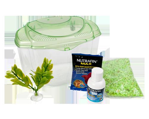 Picture of Marina Plastic Betta Kit Green - .5 Gallon