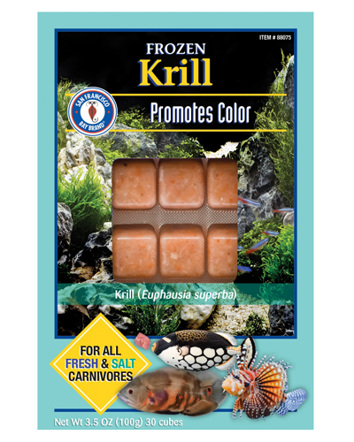 Picture of San Francisco Bay Brand Frozen Krill - 3.5 oz.