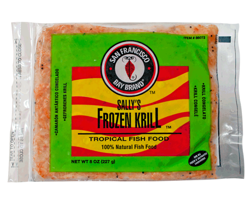 Picture of San Francisco Bay Brand Frozen Krill Flat Pack - 8 oz.