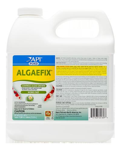 Picture of API Pond Algaefix Algae Control - 64 oz