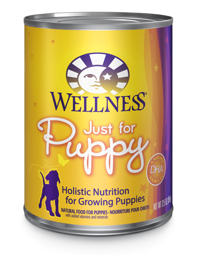 Picture of Wellness Complete Health Just for Puppy with Chicken - 12.5 oz.
