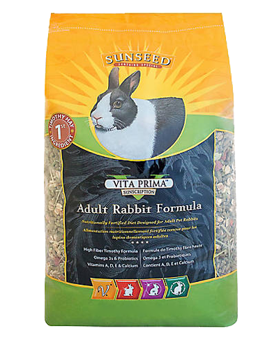 Picture of Sunseed Vita Prima Sunscription Adult Rabbit Formula - 4 lb.
