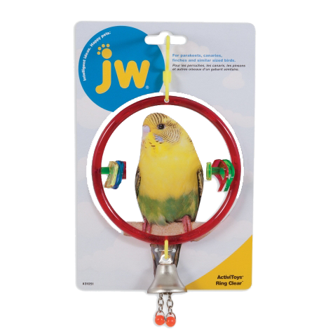Picture of Jw Pet Insight Ring Clear with Bell