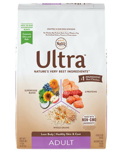 Picture of Nutro Ultra Adult Protein Blend from Chicken, Lamb, & Salmon - 15 lbs.