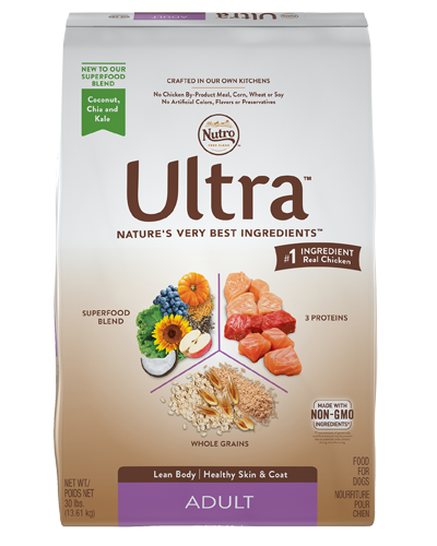 Picture of Nutro Ultra Adult Protein Blend from Chicken, Lamb, & Salmon - 30 lbs.