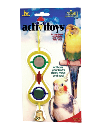 Picture of JW Pet Activitoy Hour Glass Mirror