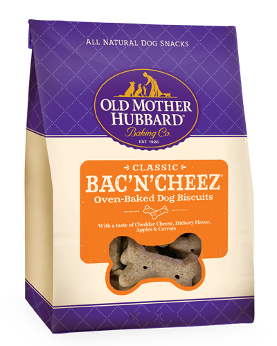 Picture of Old Mother Hubbard Classic Bac'N'Cheez Biscuits - 5 oz.