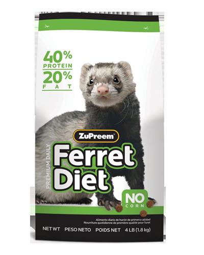 Picture of Zupreem Premium Ferret Diet - 4 lb.