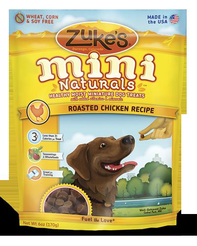 Picture of Zuke's Mini Naturals Chicken Recipe - 6 oz.