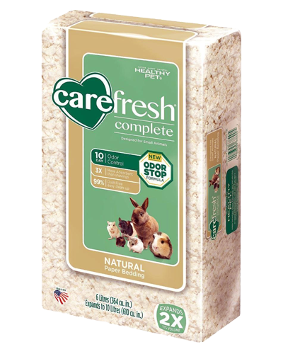 Picture of Carefresh Complete Naturals White Paper Bedding - 6 L