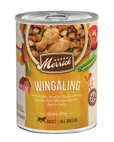 Picture of Merrick Classic Grain Free Wingaling Recipe with Chicken - 13.2 oz.