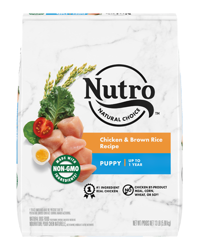 Picture of Nutro Natural Choice Puppy Chicken & Brown Rice - 13 lbs.