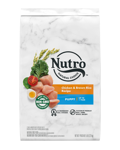 Picture of Nutro Wholesome Essentials Puppy Farm-Raised Chicken, Brown Rice, & Sweet Potato - 5 lbs.