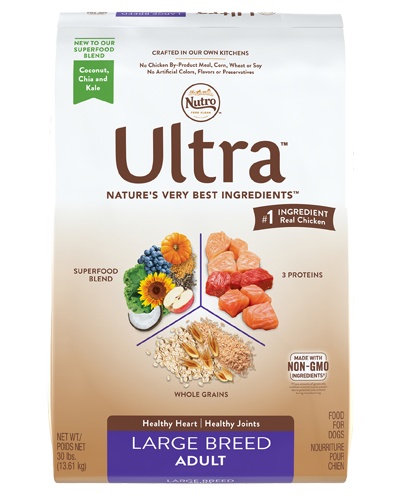 Picture of Nutro Ultra Large Breed Adult Protein Blend from Chicken, Lamb, & Salmon - 30 lbs.