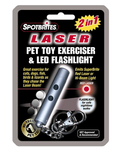Picture of Ethical Spot Brites 2 in 1 Laser and LED Toy