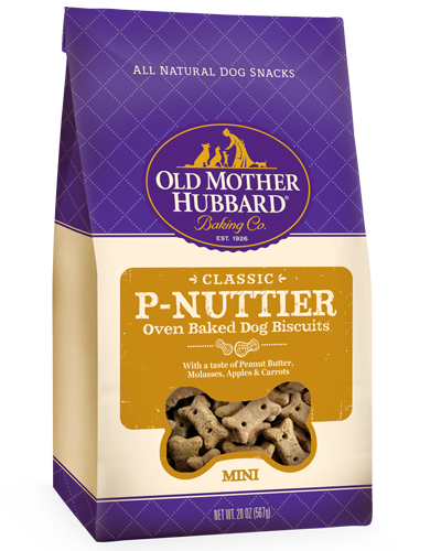Picture of Old Mother Hubbard Classic P-Nuttier® Mini Biscuits -  20 oz.