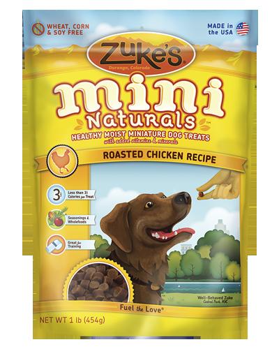 Picture of Zuke's Mini Naturals Chicken Recipe - 1 lb.