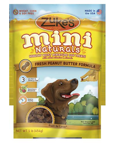 Picture of Zuke's Mini Naturals Peanut Butter & Oats Recipe - 1 lb.