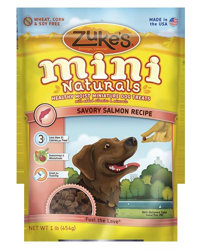 Picture of Zuke's Mini Naturals Salmon Recipe - 1 lb.